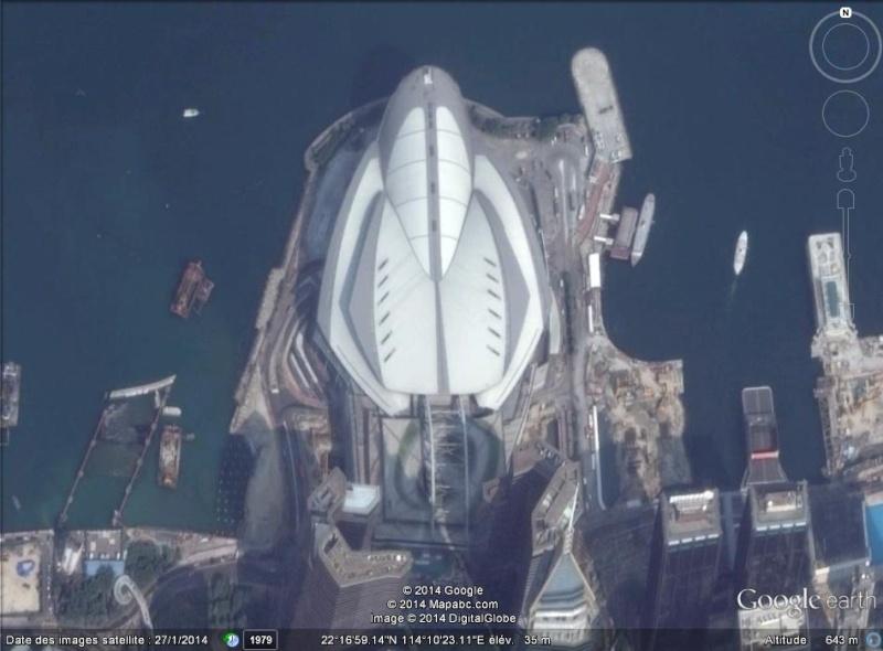 Vaisseau spatial à Hong Kong - Chine Ab31