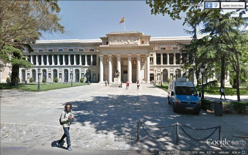 Le musée du Prado en 3D et en haute définition dans Google Earth Ac13