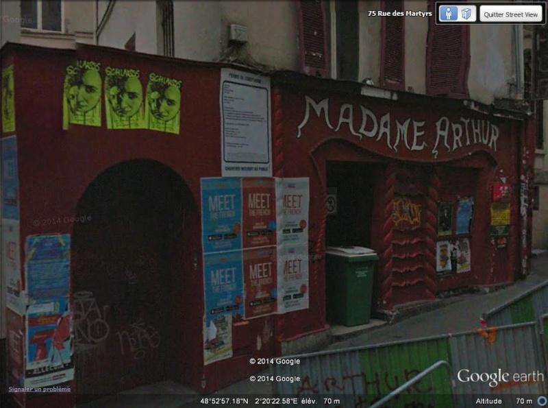 Madame Arthur - rue des martyrs - Paris Arthur10