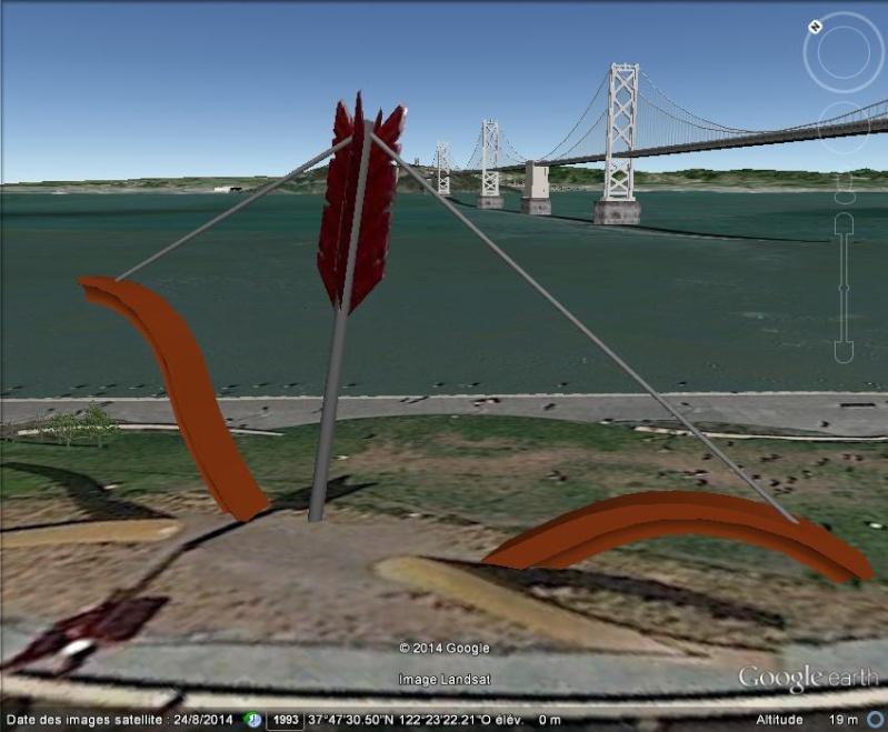 STREET VIEW: Arc géant planté, San Francisco, USA B12