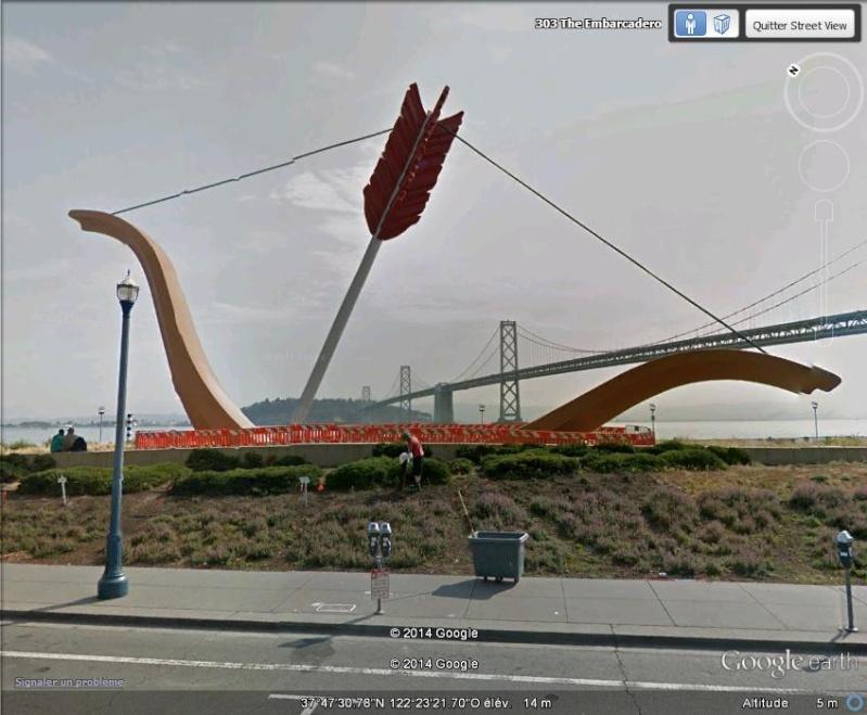 STREET VIEW: Arc géant planté, San Francisco, USA C11