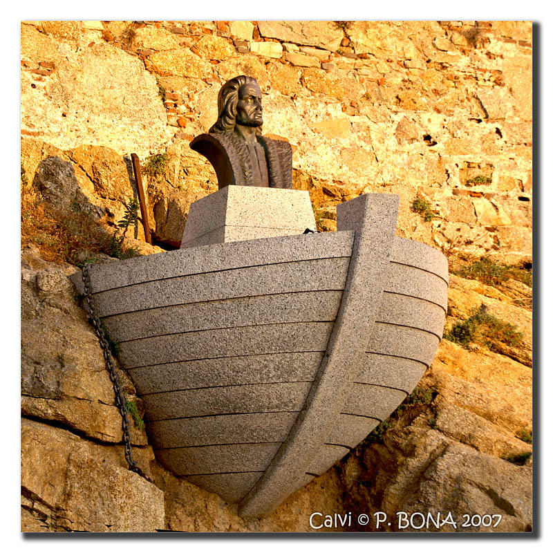 Christophe Colomb...né à Calvi - Corse. Calvi-10