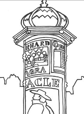 Les colonnes Morris en France Colori10