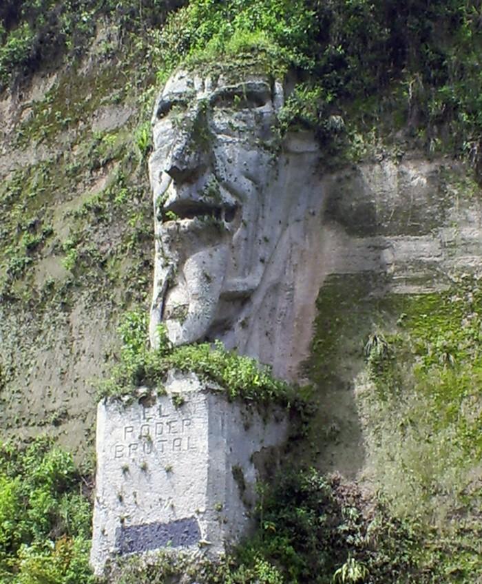 """Sculpture """"El poder brutal"""" - Tandapi - Equateur El_pod10"""