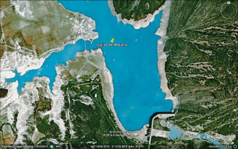 Les églises noyées de Mavrovo (Macédoine),  Mediano (Espagne) et San Pedro (Italie) Ge_egl10