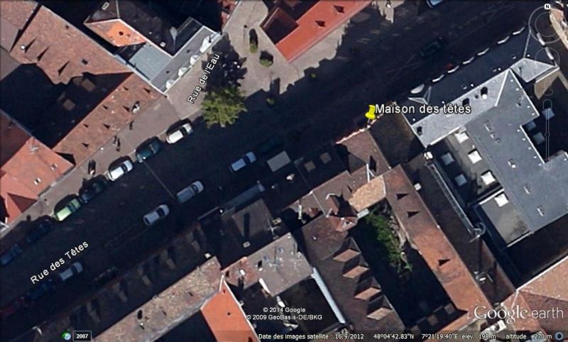 Maison des têtes - Colmar - Haut-Rhin - France Ge_mai11
