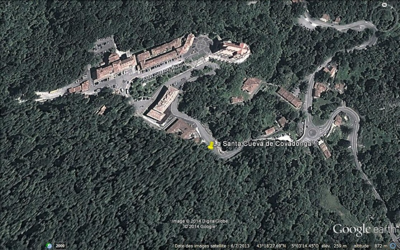 La Santa Cueva de Covadonga - Asturies - Espagne. Ge_san10