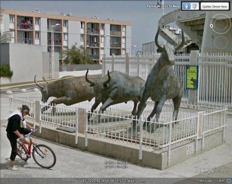 Sculpture : les taureaux du Grau du Roi, Gard - France Ggg10