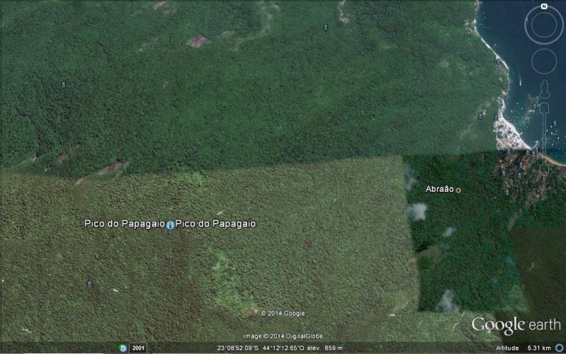 Pico de Papagaïo - Abraão - Brésil Image_20