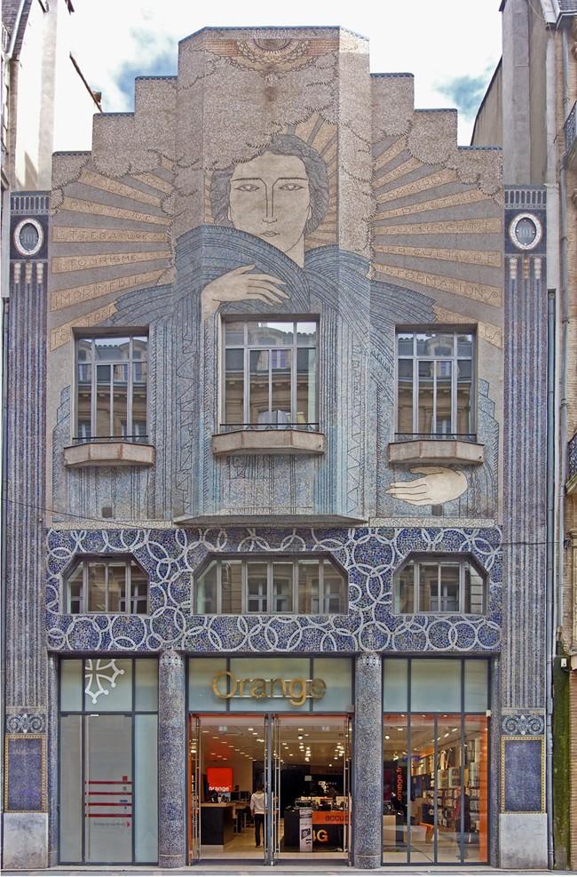 """L'immeuble """"Arts-Déco"""" de la Dépêche du Midi - Toulouse - France. Immeub10"""