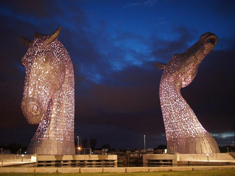 [Enfin visible sur Google Earth] - Les Kelpies d'Andy Scott - Falkirk - Ecosse - UK Kelpie10