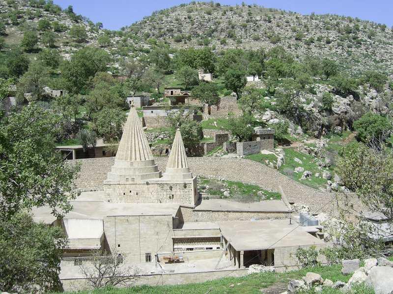 Lalesh, centre religieux du Yazidisme - Irak Lalish10