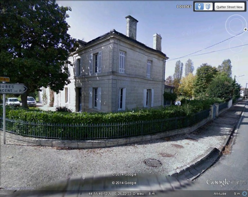 La maison natale de Max Linder - Cavernes - Saint Loubes - Gironde - France Ml210