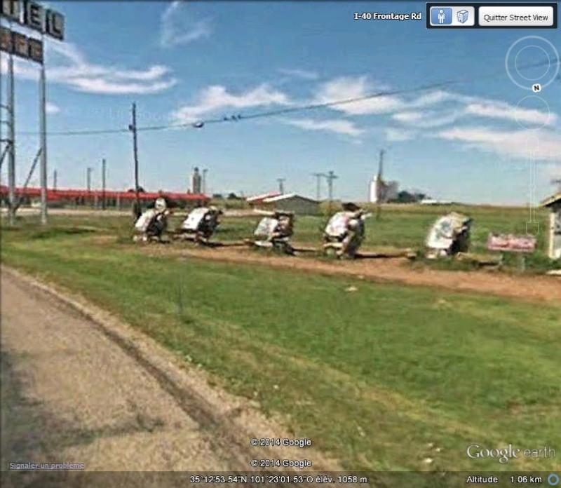 Cadillac ranch, Amarillo, Texas - USA Sv13