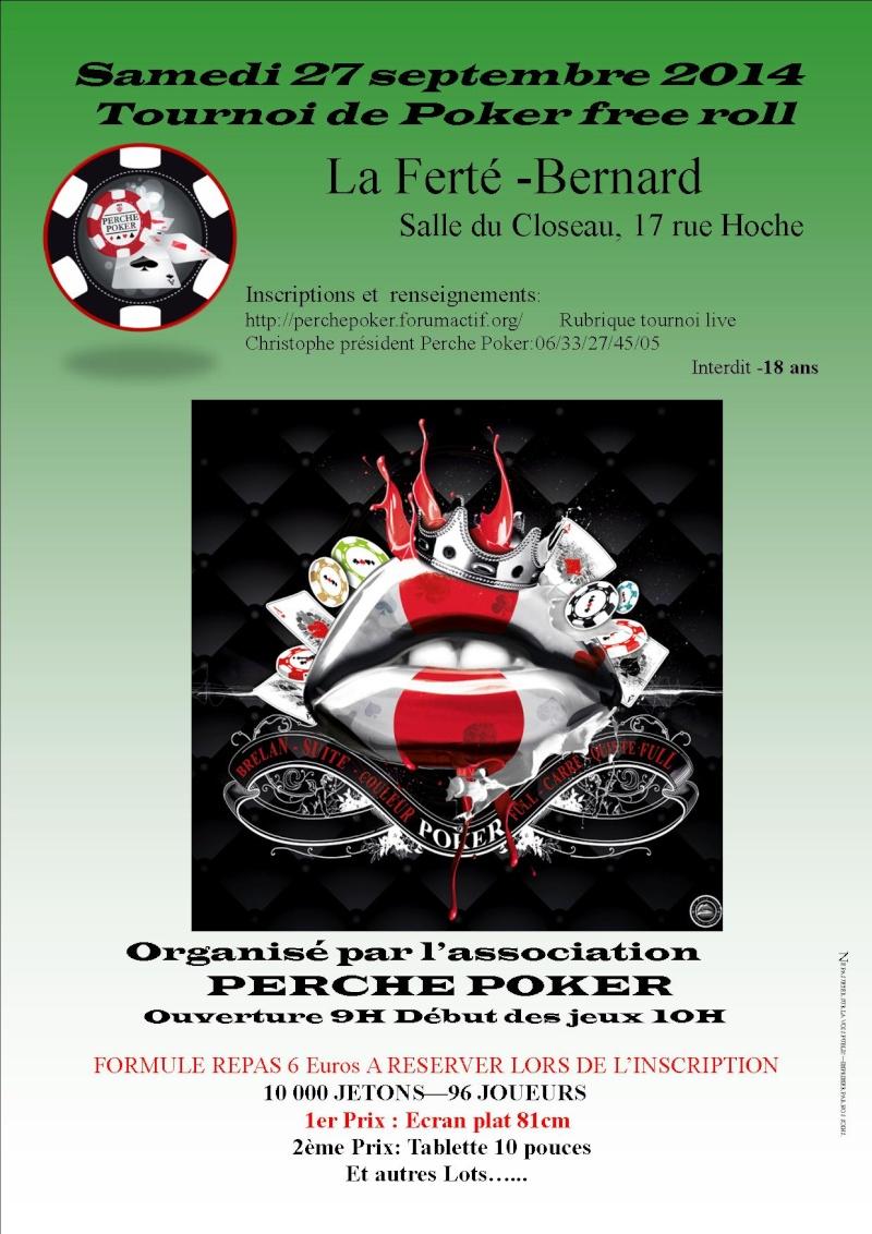 Tournoi Perche Poker du 27 septembre Affich11