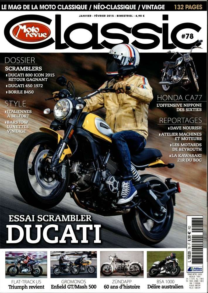 Moto revue classic Mrc10