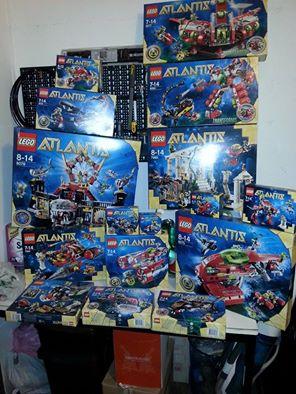 set lego atlantis..... 10592710
