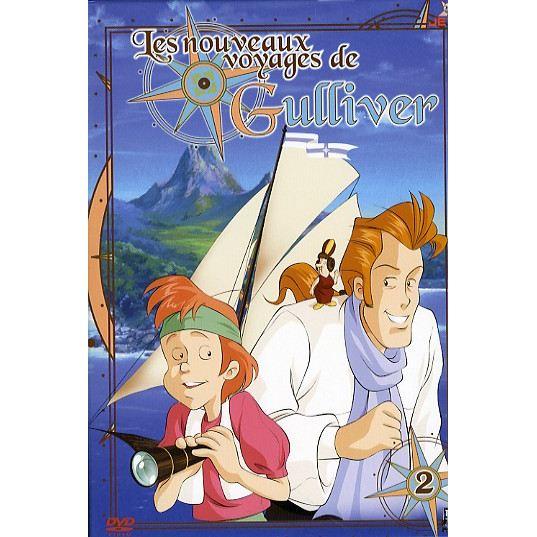 Les nouveaux voyages de Gulliver Dvd-le11