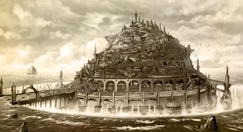 [PROJET] Arhylië, la nouvelle capitale des Elfes. Illu_e10