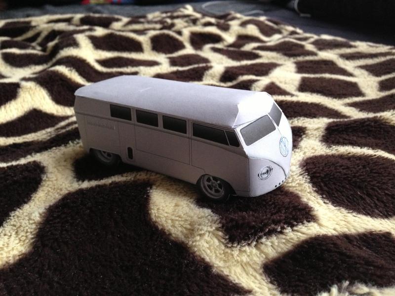 vw t2 hot rod 39 62 1 53 papercraft. Black Bedroom Furniture Sets. Home Design Ideas