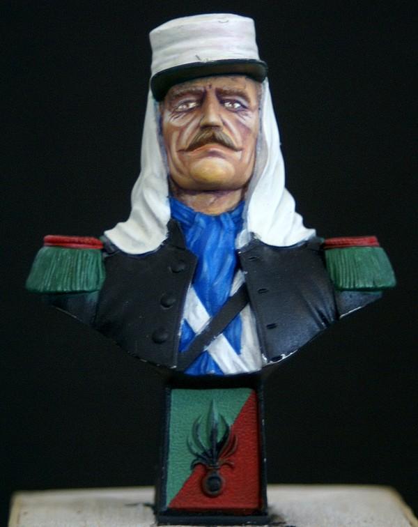 Buste Métal Modèle Dsc02849