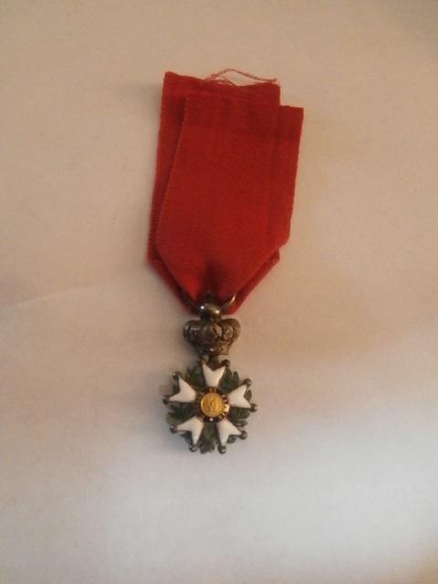 réduction légion d'honneur 1er empire ou présidence? P6090410