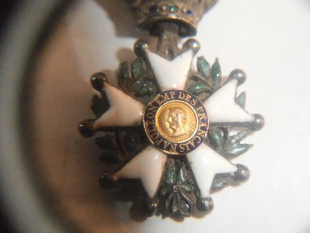 réduction légion d'honneur 1er empire ou présidence? P6090412