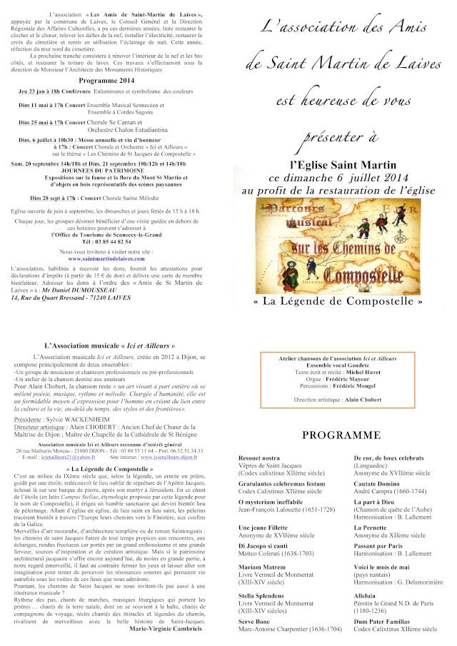 Dimanche 06 Juillet 2014  -  Concert à l'Eglise de Saint Martin de Laives 25_06_11