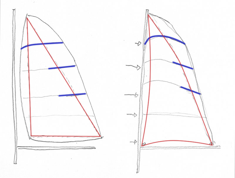 Wikingerschiff Skuldelev 3 / Teil II Skitzz11