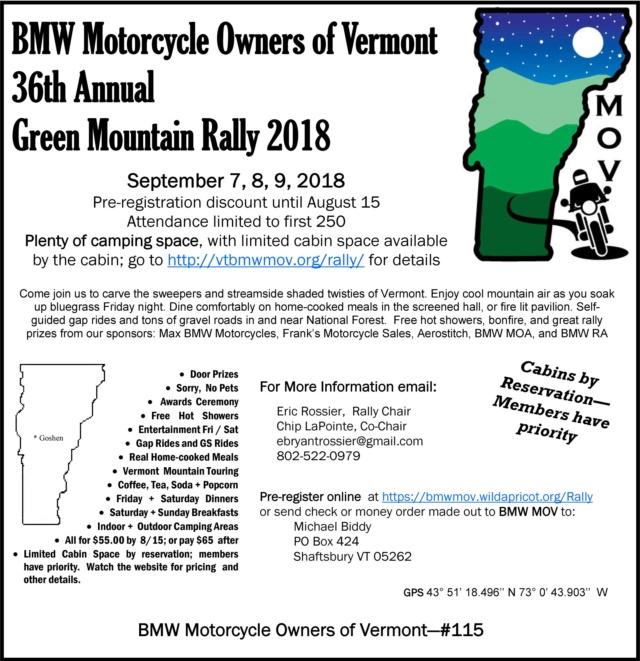 Green Mountain Rally - 2018-09-07 - 36th Annual 2018_g10