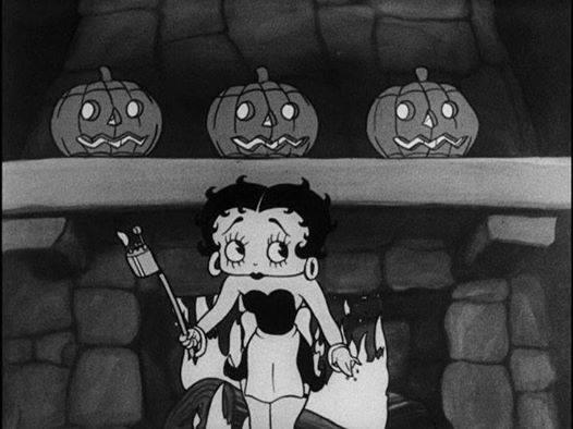 Betty en noir et blanc  0310