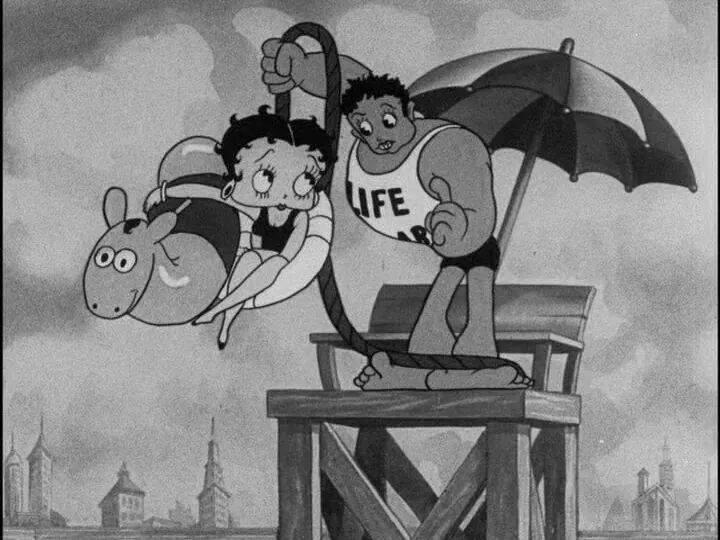 Betty en noir et blanc  13774310