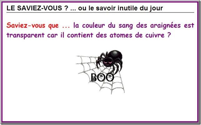 Le sang de l'araignée  B110