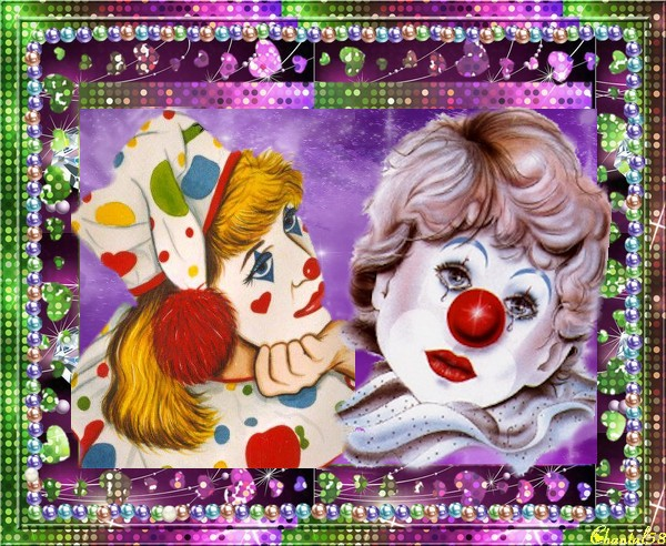 Clowns  B3483c10