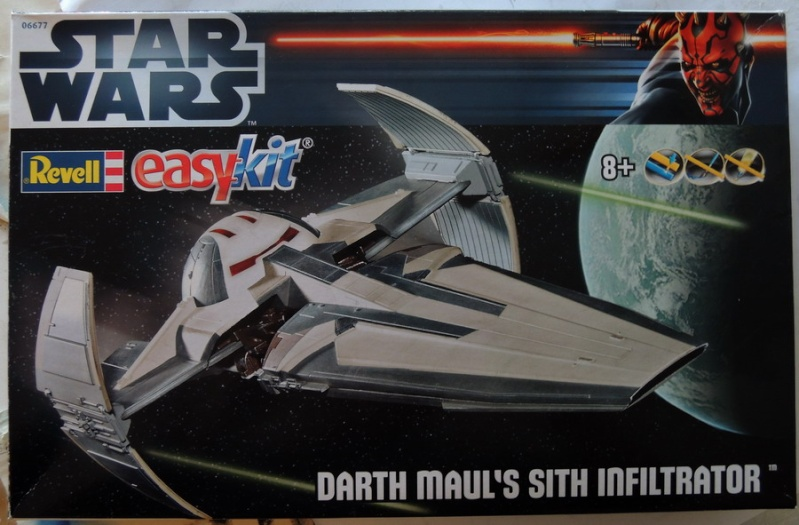 Darth Maul's Sith Infiltrator- Revell EasyKit 0110