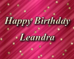 Leandra's B-day Blog Post I64310