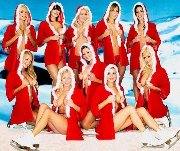 Femme Nu Joyeux Noel joyeux noël !!!