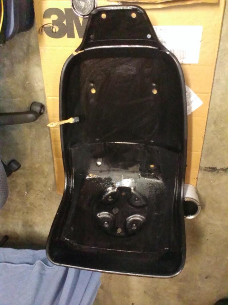 75 Laguna Bucket Seat Upholstery Set Install Bucket10
