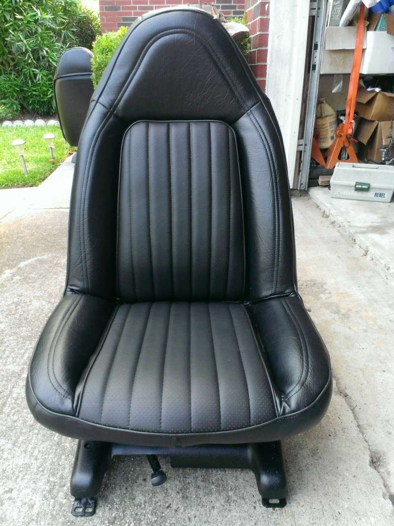 75 Laguna Bucket Seat Upholstery Set Install Driver10