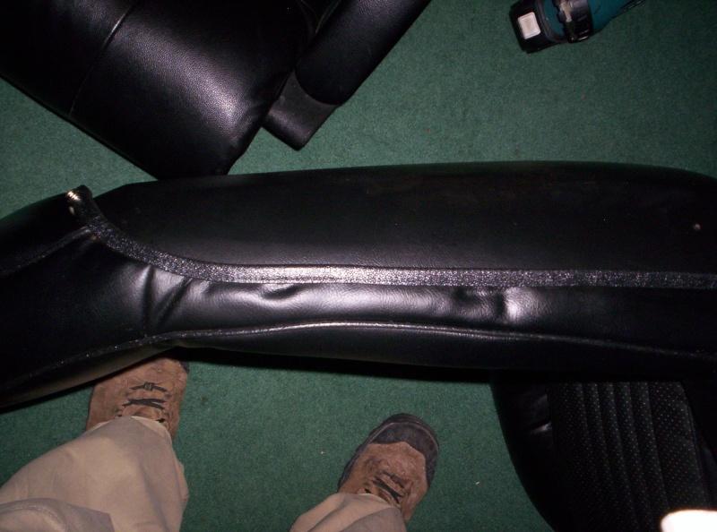75 Laguna Bucket Seat Upholstery Set Install Seats_11