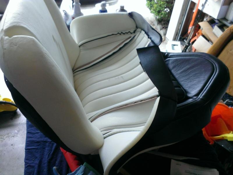 75 Laguna Bucket Seat Upholstery Set Install Swivel10