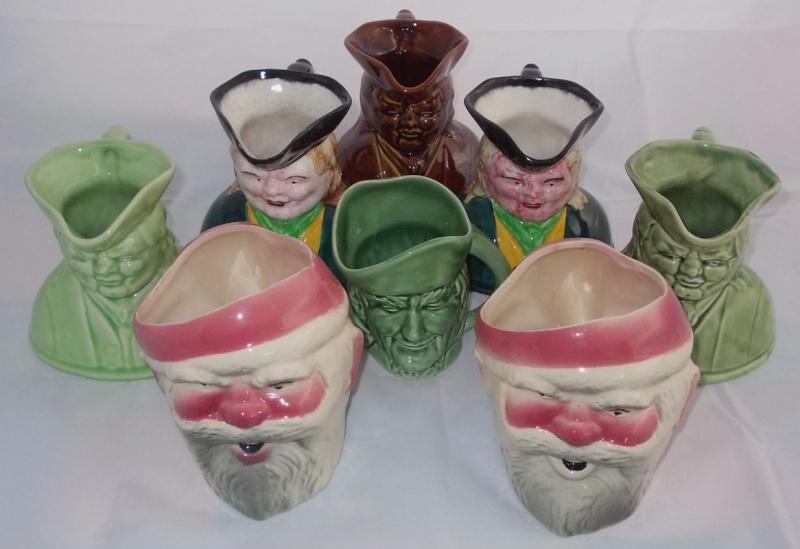 431 Santa mug and 432 toby jug INQUEST. Dscn3817