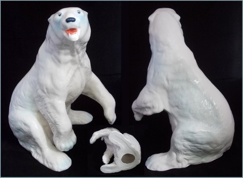 Is this standing up Polar Bear made by Titian/Aquila?  Yes it was made by Aquila. Dscn4522