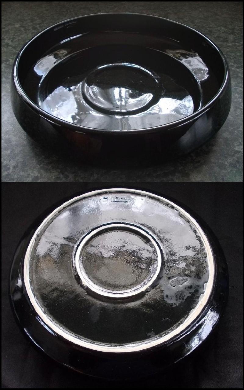 "John asks ""Is this Crown Lynn?"" -  The pedestal pot is a Flower Beauty shape. Dscn7011"