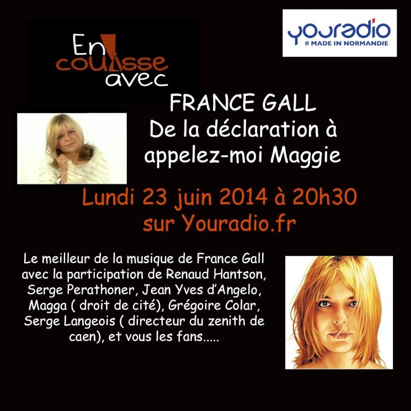 emission radio pour feter France Gall Fg10