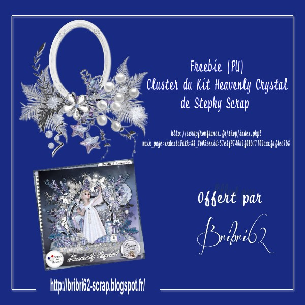 Freebie Cluster Kit Heavenly crystal Pv_clu18
