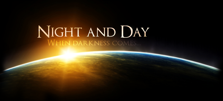 Night and Day - When Darkness Comes Logo112
