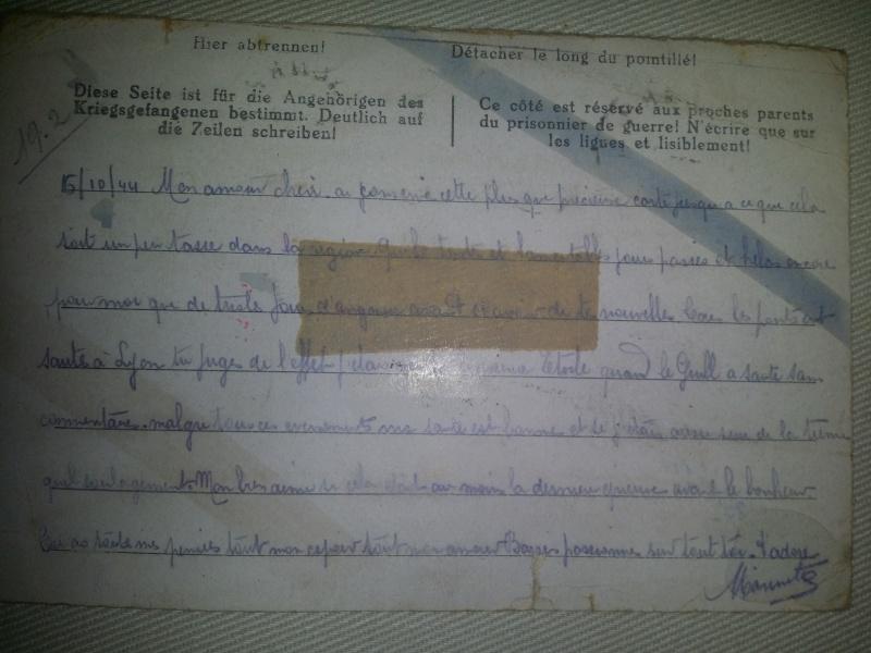 correspondance prisonnier de guerre 20140511