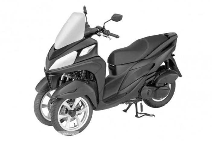 Yamaha Tricity 125 : interview de M. de Seynes (Yamaha Europe) Tr210