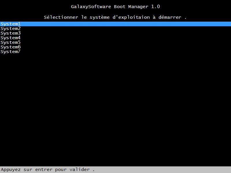 GalaxySoftware BootManager 1.0 Beta Sans_t10